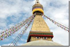 Nepal 2010 - Kathmandu ,  Estupa de Bodnath - 24 de septiembre  -    18