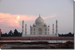 India 2010 - Agra , Taj Mahal , desde el rio , 17 de septiembre   32