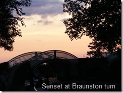 Sunset over Braunston Turn