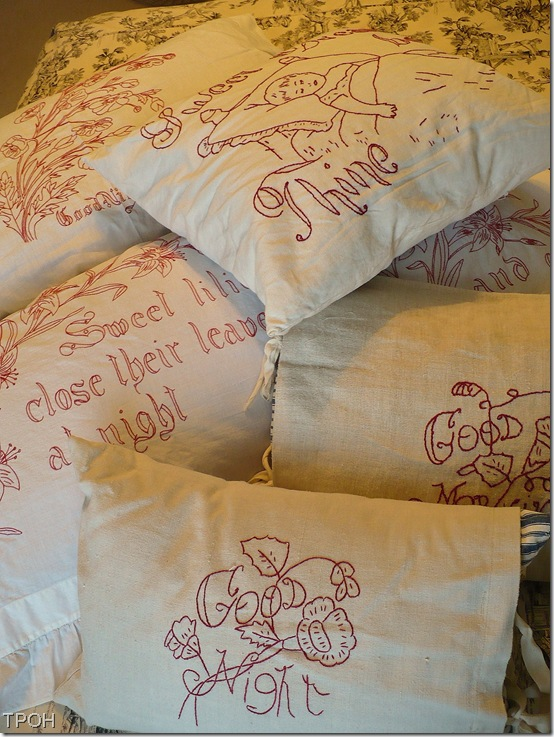 Redworkpillows