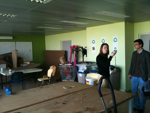 Salle du lab Innovation de l'ENPC
