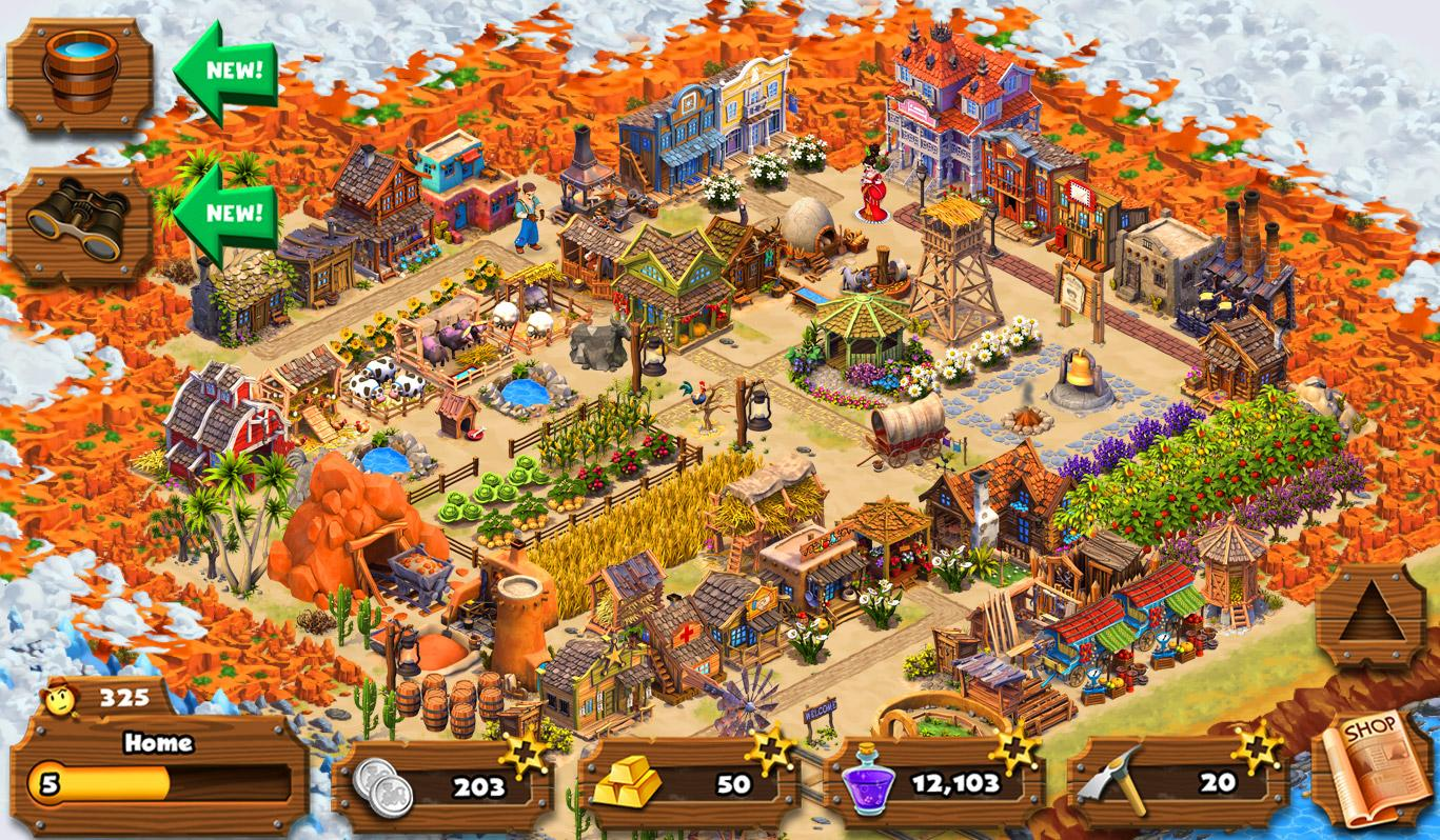 Westbound Adventure City Town Screenshot 4