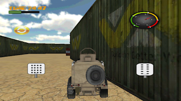 Screenshot of all terrain racing game