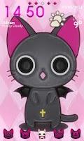 Screenshot of Vampire Kitty Go Launcher