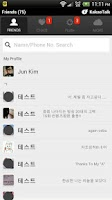 Screenshot of KakaoTalk - Simple Kakao.A
