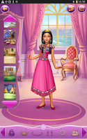 Screenshot of Dress up Princess Pocahontas