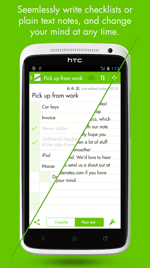 MobisleNotes - Notepad Screenshot 11