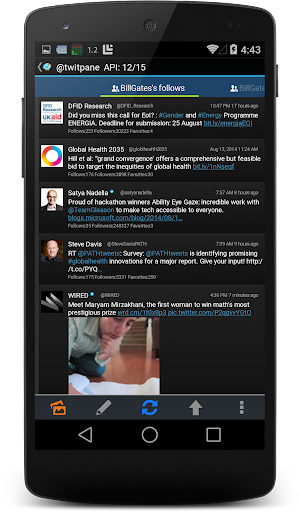 TwitPanePlus for Twitter - screenshot