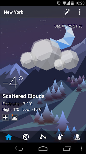 Mount Background GO Weather - screenshot