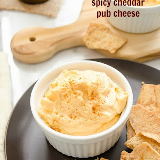 Spicy Cheddar Pub Cheese
