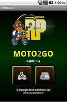 Screenshot of Moto2Go