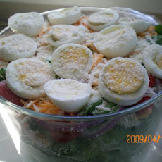 Linda's Luscious Layered Salad