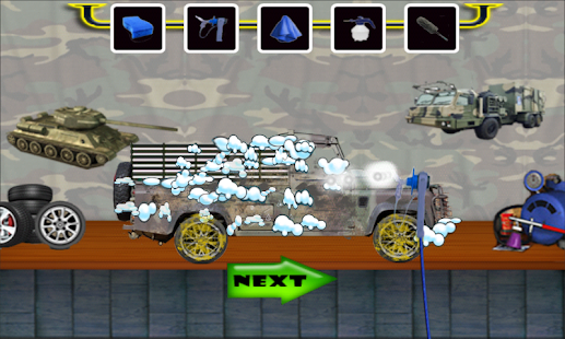 Military Truck Wash - screenshot
