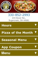 Screenshot of Park Street Pizza