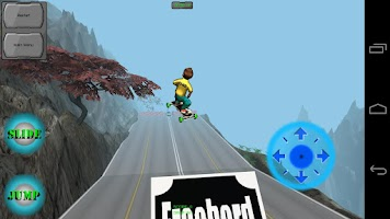 Screenshot of Freebord Snowboard The Streets