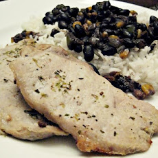 Cuban Spiced Pork Chops