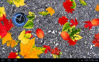 Screenshot of Autumn Leaves Donate LWP