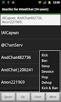 Screenshot of AndChat (Donate)