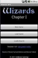 Screenshot of Wizards RPG