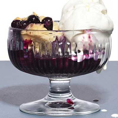 Jeni Britton Bauer's Blueberry Cobbler