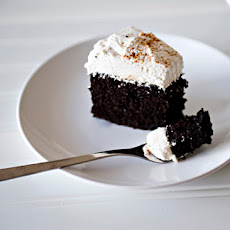 Mexican Chocolate Cake with Mascarpone Frosting
