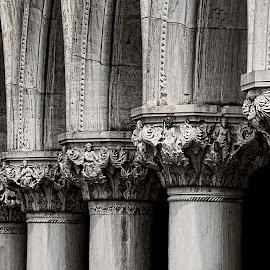 Venetian details by Maya Cvetojevic - Buildings & Architecture Architectural Detail ( details, venice )