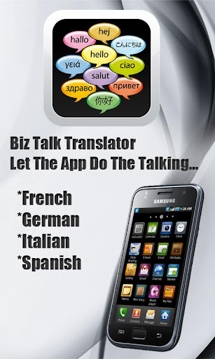 Biz Talk Translator Say Hi