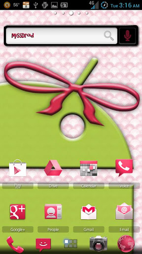ADW Theme MissDroid Original