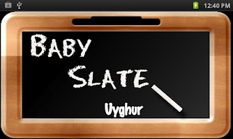 Screenshot of Baby Slate - Uyghur