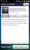 Screenshot of SGNL by Sony