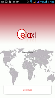 Screenshot of eTaxi