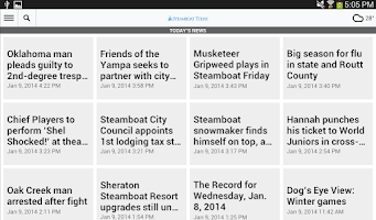 Screenshot of Steamboat Today