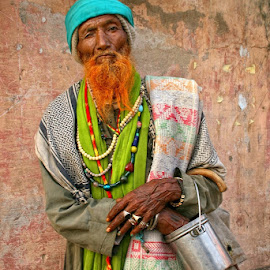 Colorful man by Jos Meubis - People Portraits of Men (  )