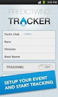 Screenshot of PredictWind Tracker
