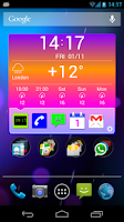 Screenshot of Organizer Widget