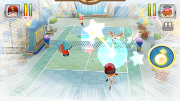 Screenshot of Ace of Tennis