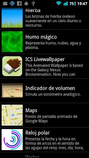 ICS Livewallpaper