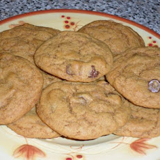 Malted Chocolate Chip Cookies - Vegan