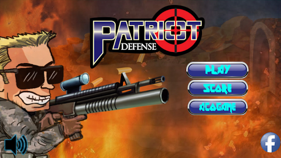 Patriot defense - screenshot