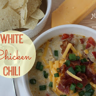 White Chicken & Bacon Chili