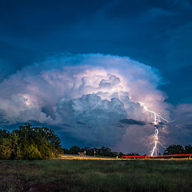 The Storm's Beauty by Stephen Ofsthun - Landscapes Weather