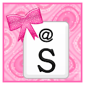 KB SKIN - Pink Glitter Bows icon