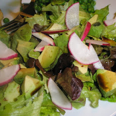 Avocado Radish Salad