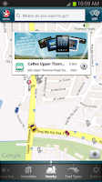 Screenshot of Caltex Station Locator