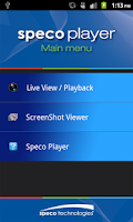Screenshot of Speco Player