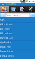 Screenshot of Contacts 3