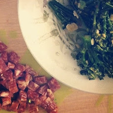 Chinese Sausage and Broccolini Fried Rice Recipe