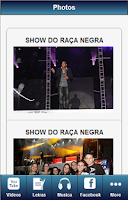 Screenshot of Raca Negra Fan Pro