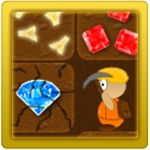 Treasure Miner - a mining game