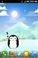 Screenshot of Penguin Pet LWP Free